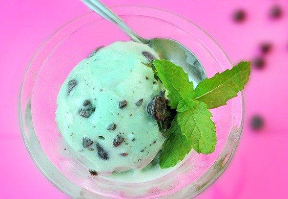 Mint Chip Avocado, Spinach, Kale Sorbet