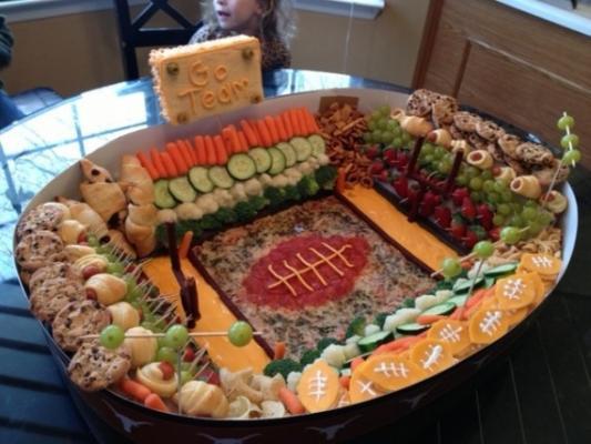 Top 6 Healthy Super Bowl Snacks!