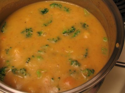 Healing Broccoli & Carrot Soup