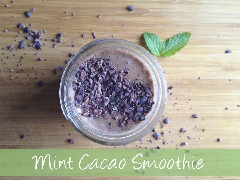 Amazon Cacao Mint  Smoothie